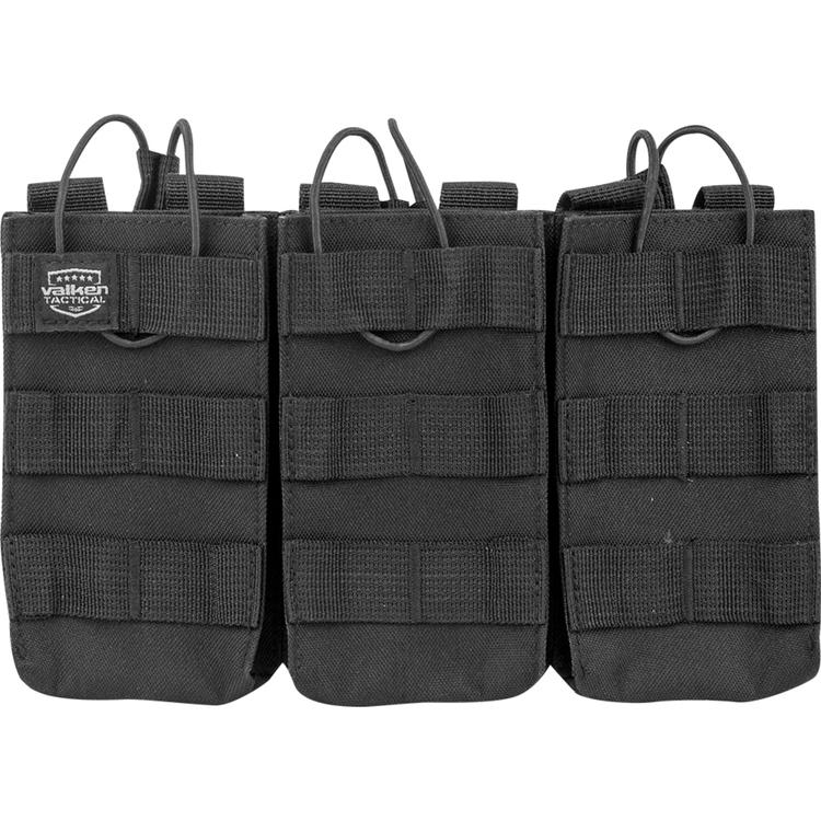 [Valken] V-Tactical Mag Pouch AR Triple - Black