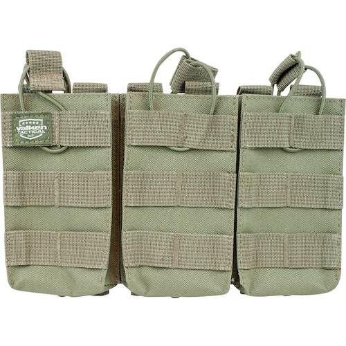 [Valken] V-Tactical Mag Pouch AR Triple - Green