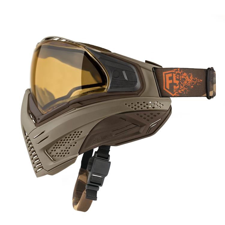 [First Strike / Push] Unite Goggle - Tan/Brown