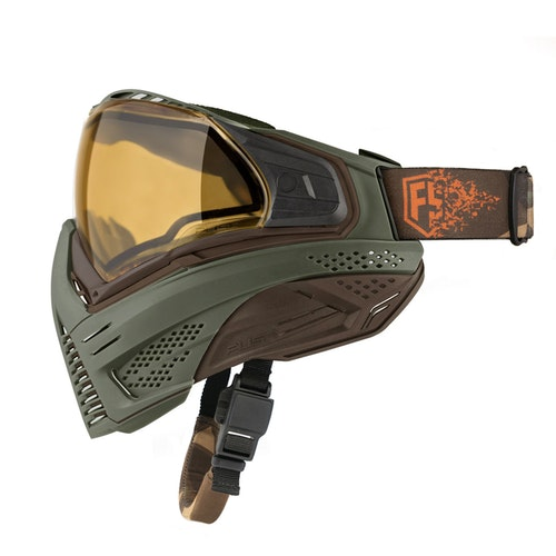 [First Strike / Push] Unite Goggle - Olive/Brown