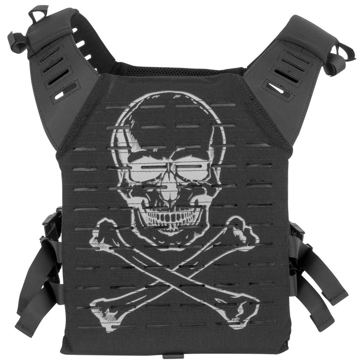 [Valken] Alpha Plate Carrier LC - Black Pirate