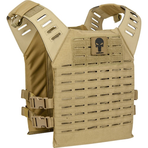 [Valken] Alpha Plate Carrier LC - Tan Skull