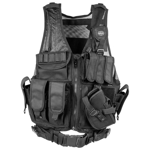 [Valken] Crossdraw Vest - Adult - Black
