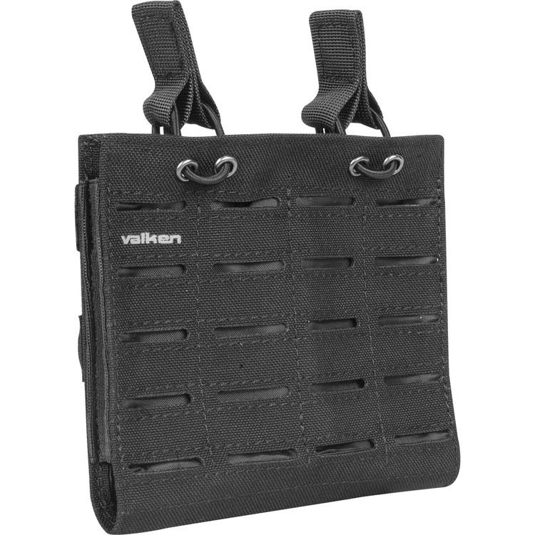 [Valken] Multi Rifle Mag Pouch LC - Double - Black