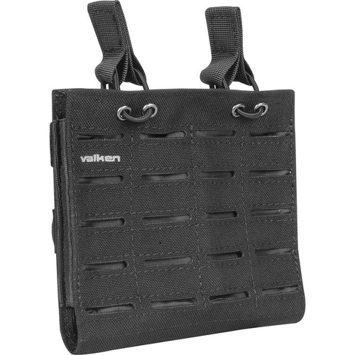 [Valken] Multi Rifle Mag Pouch LC - Double - Black
