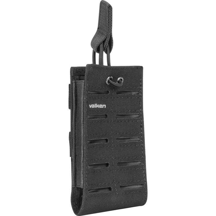 [Valken] Multi Rifle Mag Pouch LC - Single - Black