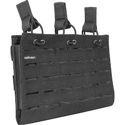[Valken] Multi Rifle Mag Pouch LC - Triple - Black