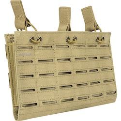 [Valken] Multi Rifle Mag Pouch LC - Triple - Tan