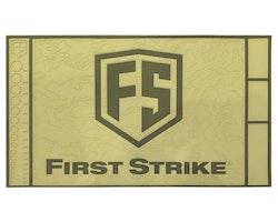 [First Strike] Tech Mat - Tan/Green