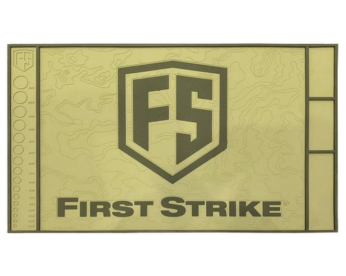 [First Strike] Tech Mat - Tan/Green