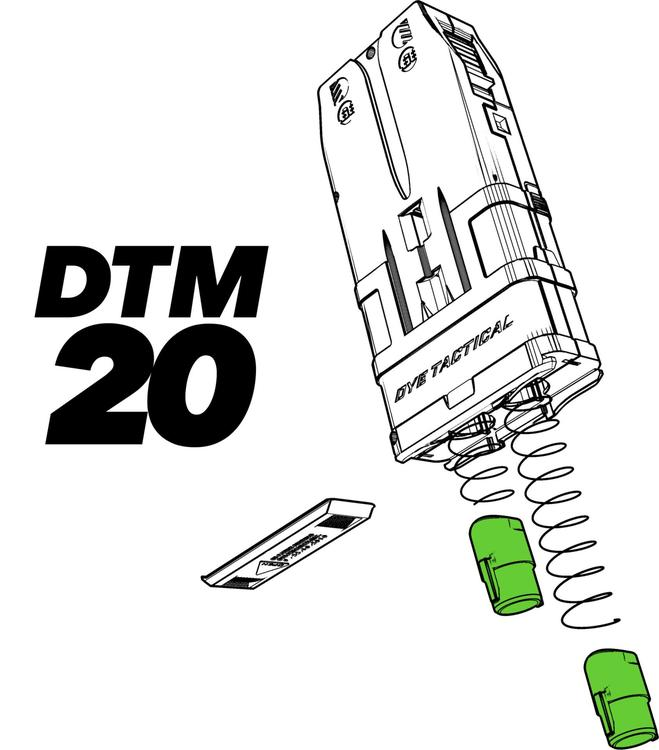 [Planet Eclipse] DTM-20 Spring and Follower Kit - 12-pack
