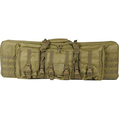 "[Valken] V-Tactical Soft Gun Case - Double Rifle - 42"" - Tan"