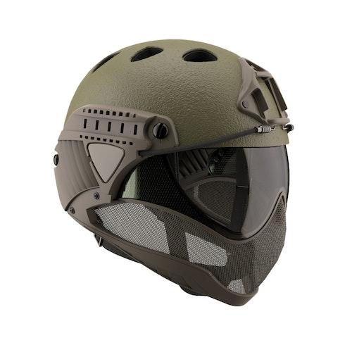 [WARQ] Helmet - Raptor OD Green