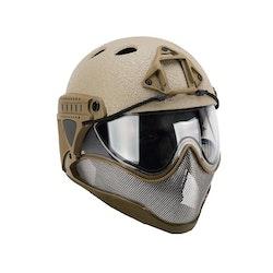 [WARQ] Helmet - Raptor Tan