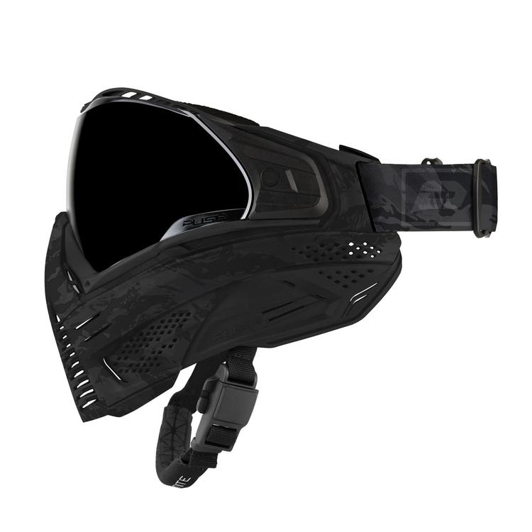 [Push] Unite Goggle - Black Camo