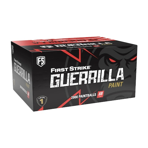 [First Strike] Guerrilla .68 Cal Paintballs - 2000 rnd