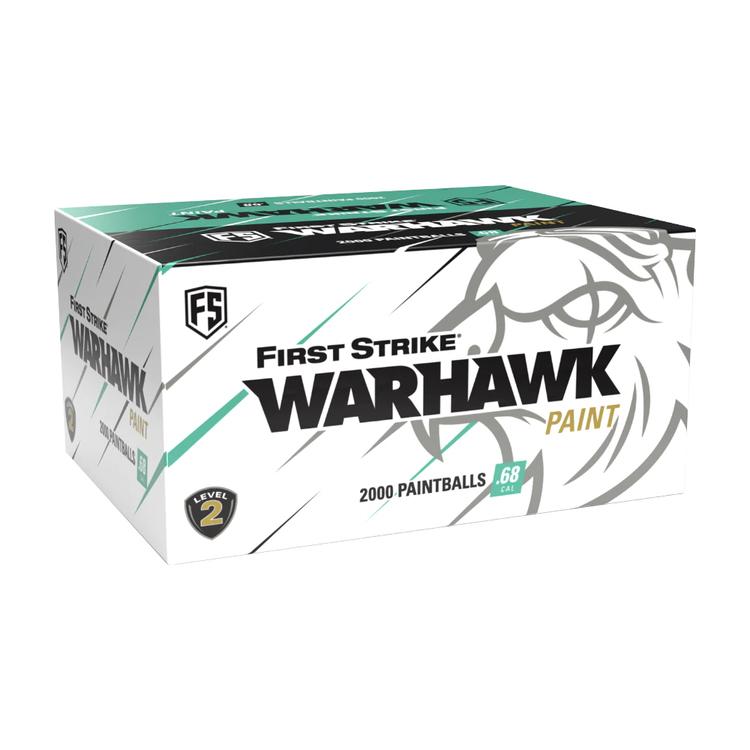 [First Strike] Warhawk .68 Cal Paintballs - 2000 rnd