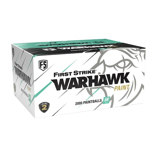[First Strike] Warhawk .68 Cal Paintballs - 2000 rnd