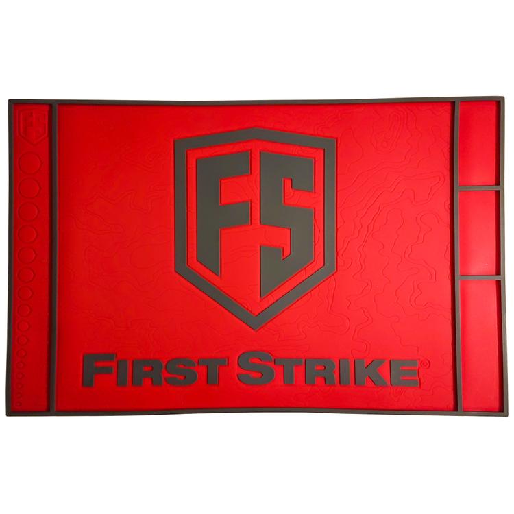 [First Strike] Tech Mat - Red/Grey