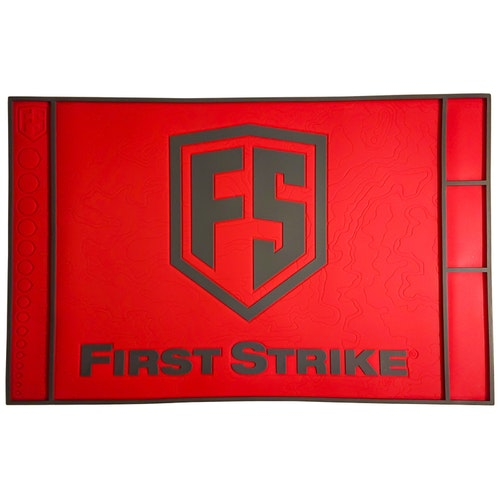 [First Strike] Tech Mat - Red/Grey