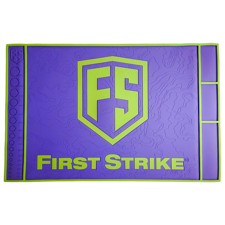 [First Strike] Tech Mat - Purple/Lime