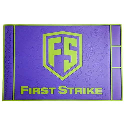 [First Strike] Tech Mat - Purple/Lime