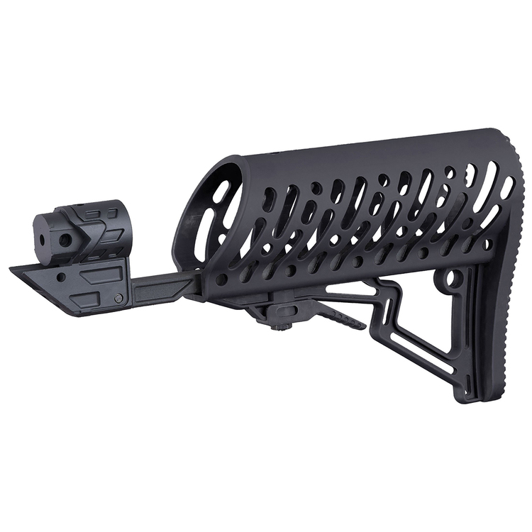 [Tippmann] TMC Air-Thru Adjustable Stock - Black