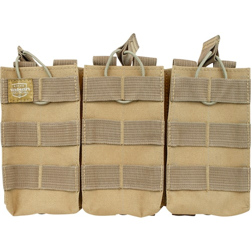 [Valken] V-Tactical Mag Pouch AR Triple - Tan