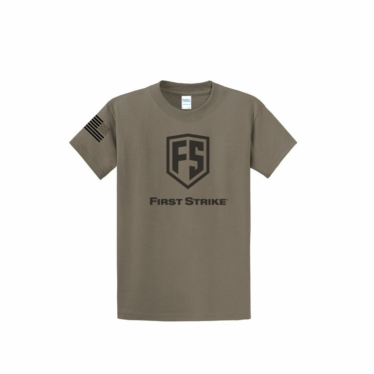 [First Strike] T-Shirt - Dusty Brown