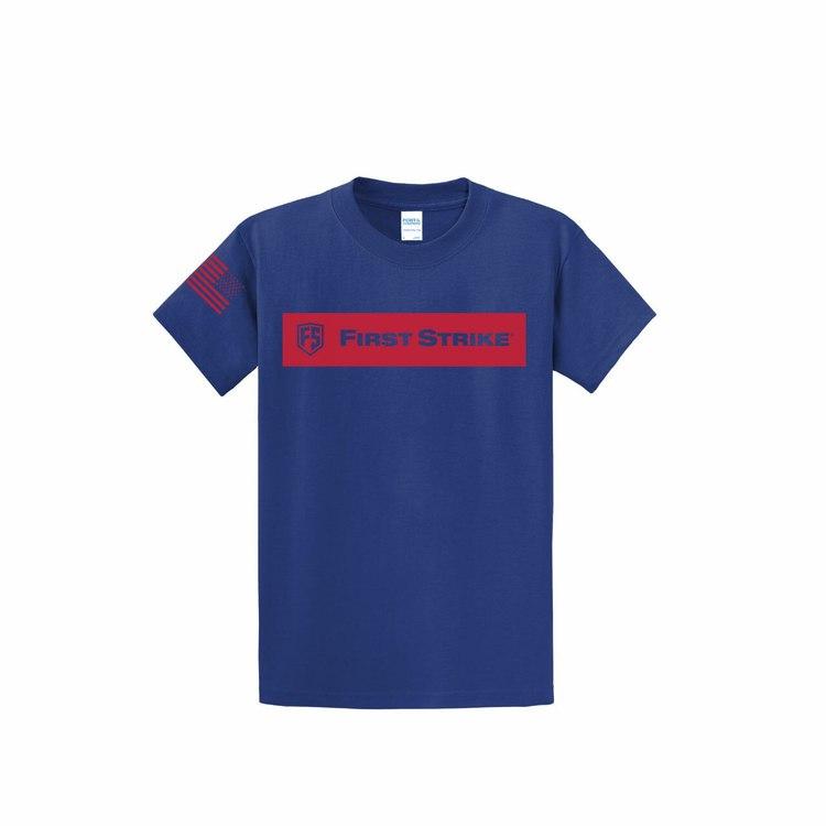 [First Strike] T-Shirt - Deep Marine