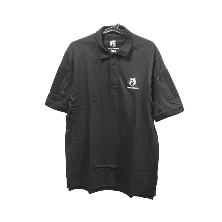 [First Strike] Tactical Polo - Black