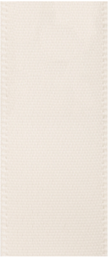 Satinband Antique white
