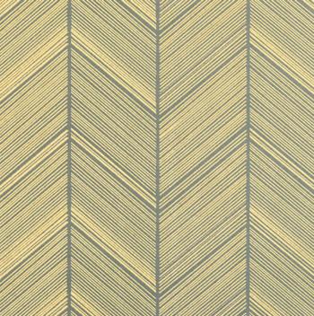 Presentpapper grön/herringbone