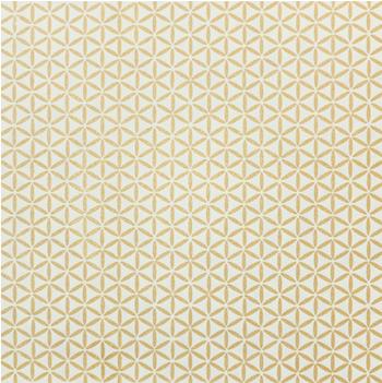 Presentpapper beige/blomma