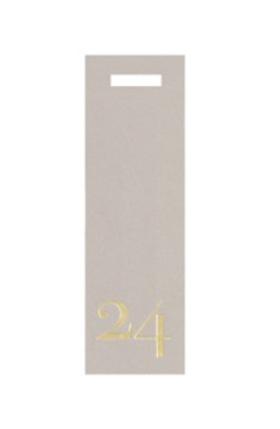 Present tag nr24 smal/grå