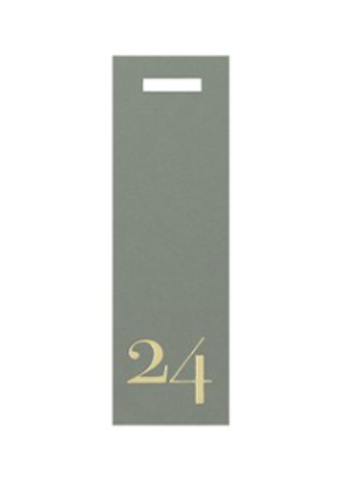 Present tag nr24 smal/grön