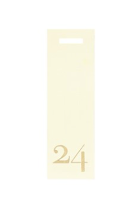 Present tag nr24 smal/beige