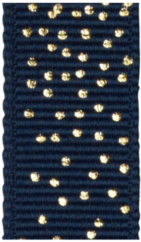 Ribbat band Dark blue/Dot