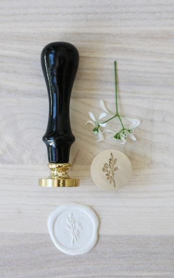 Sigillstämpel / blomkvist