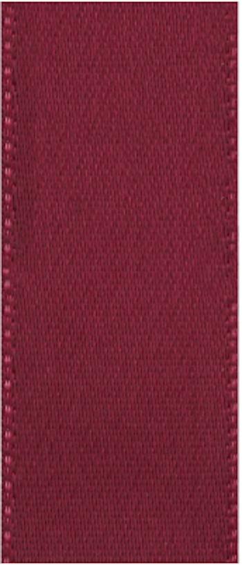 Satinband Dark red