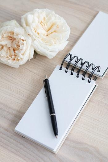 Notebook 'honey nude'