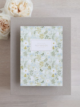 Notebook 'daisies & dragonflies'