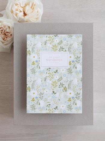 Notebook 'daisies & dragonflies'