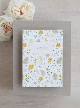 Notebook 'marigold meadow'