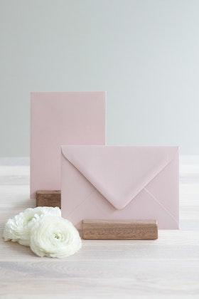 Kuvert 'blush pink' A6