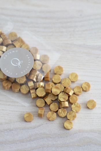 Vaxbönor varm guld 'NYHET'