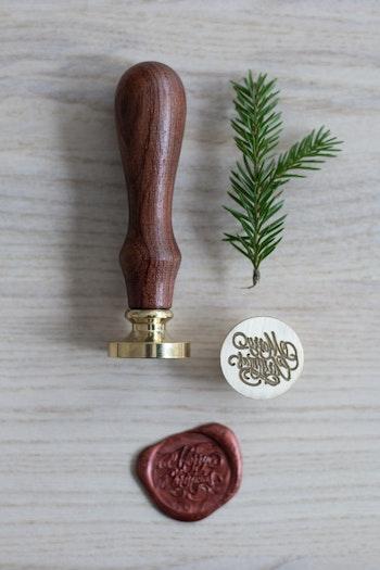 Sigillstämpel / merry christmas