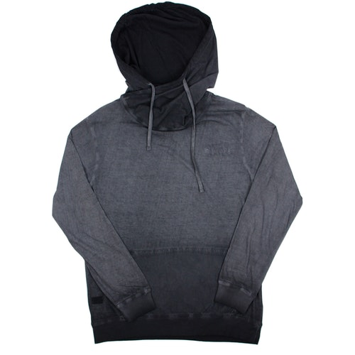 SOFT WASHED GRAY HOOD TEE