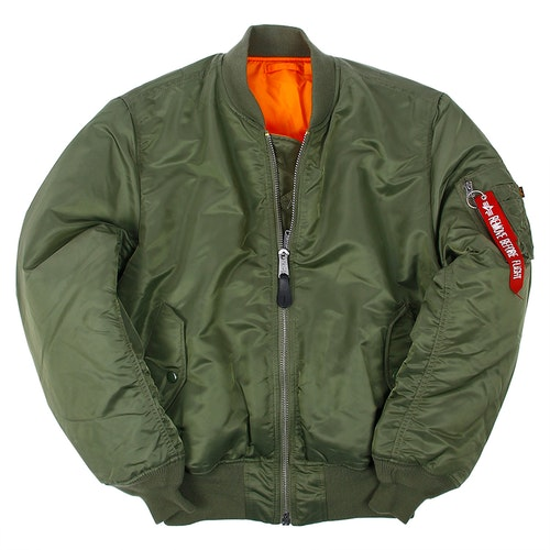 ALPHA INDUSTRIES MA-1- SAGE GREEN