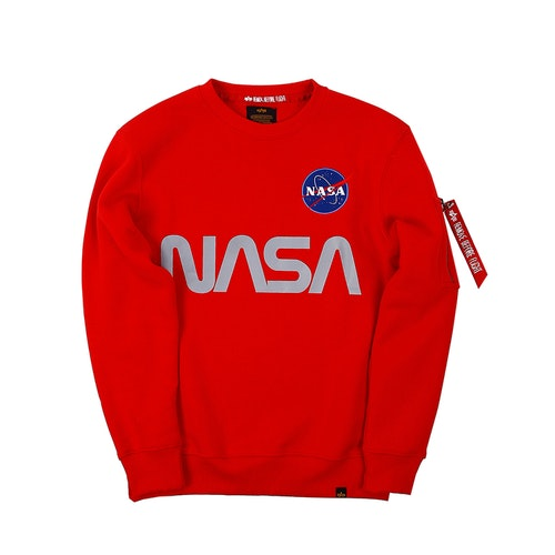 ALPHA INDUSTRIES NASA RED